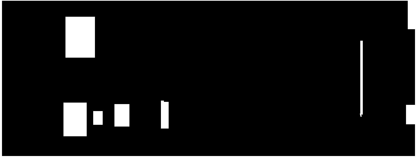 Line Drawing of the Tiller — 17' SC