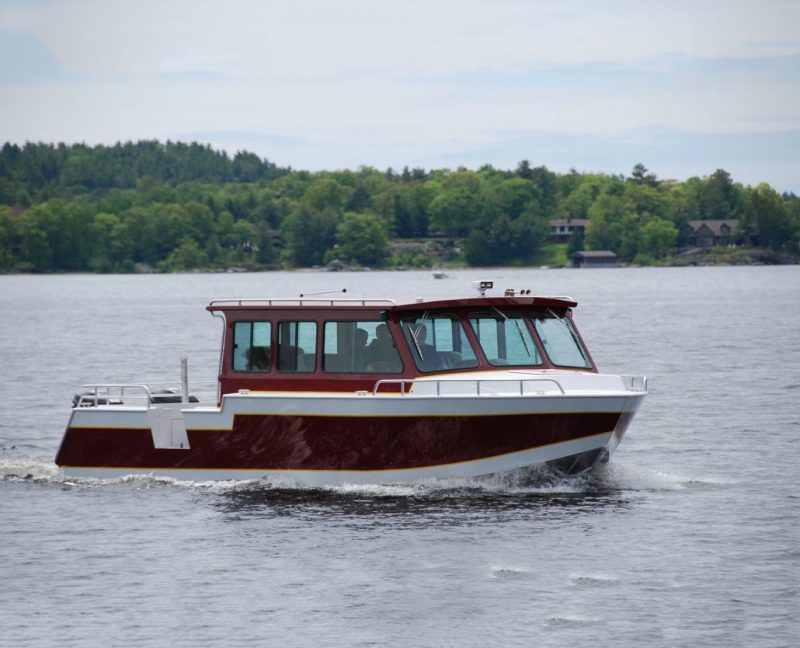 Commercial Passenger Boat built for Fishing Charters, Passenger Ferries, Water Taxis, Dive Boats, Tour Boats and Transport.