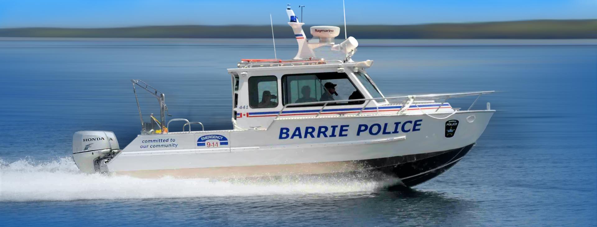 23′ (7m) Patrol Centre Console