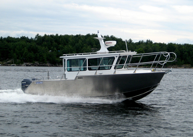 All-weather Coastal Patrol Boat designed for multi-mission, law enforcement, emergency response, search & rescue.