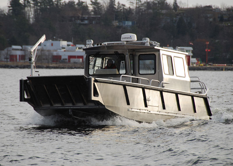 32' High Speed Rescue Landing Craft multi-purpose vessel, excellent for emergency response and SAR dive teams.